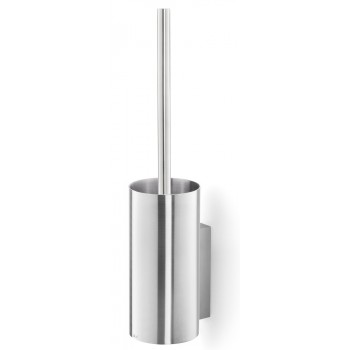 Zack Linea Brushed Stainless Steel Wall Toilet Brush 40381