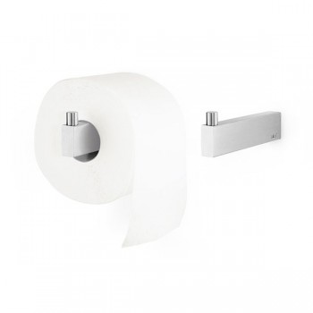 Zack Linea Brushed Stainless Steel Spare Toilet Roll Holder 40391