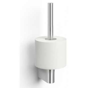 Zack Atore Brushed Stainless Steel Spare Toilet Roll Holder 40412