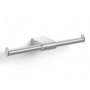 Zack Atore Brushed Stainless Steel Double Toilet Roll Holder 40414