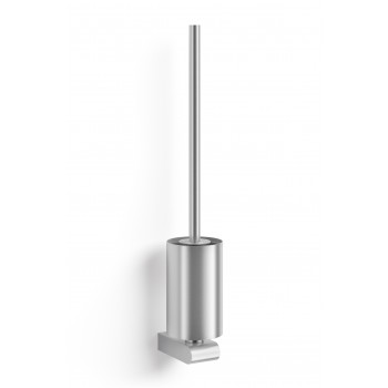 Zack Atore Brushed Stainless Steel Wall Toilet Brush 40416
