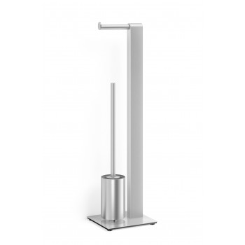 Zack Atore Brushed Stainless Steel Toilet Butler 40417