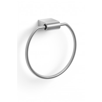Zack Atore Brushed Stainless Steel Towel Ring 40423