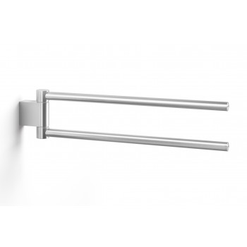 Zack Atore Brushed Stainless Steel Swivel Towel Holder 40424