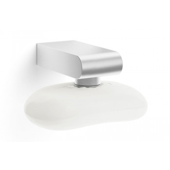 Zack Atore Brushed Stainless Steel Magnetic Soap Holder 40428