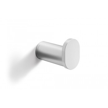 Zack Atore Brushed Stainless Steel 4 cm Towel Hook 40432