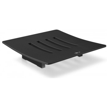 Zack Abbaco Powder Coated Black Stainless Steel Soap Dish 40443