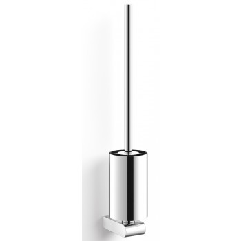 Zack Atore Polished Stainless Steel Wall Toilet Brush 40454