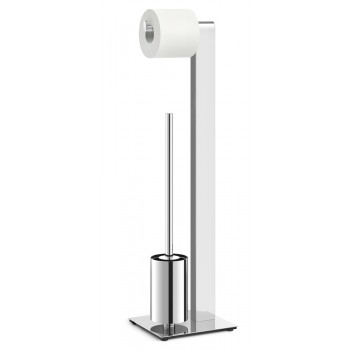 Zack Atore Polished Stainless Steel Toilet Butler 40455