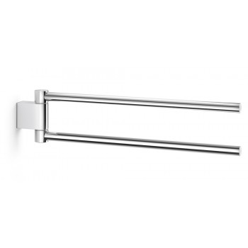 Zack Atore Polished Stainless Steel Swivel Towel Holder 40462