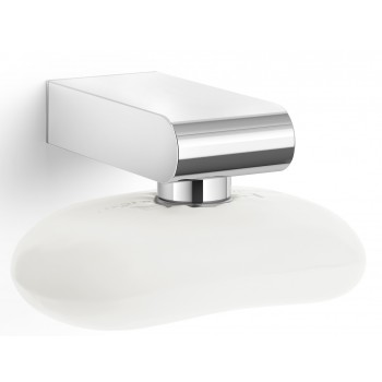 Zack Atore Polished Stainless Steel Magnetic Soap Holder 40466