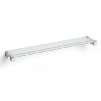 Zack Carvo Brushed Stainless Steel Bathroom Shelf  40486