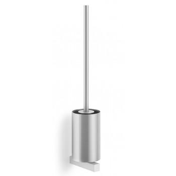 Zack Carvo Brushed Stainless Steel Wall Toilet Brush 40487