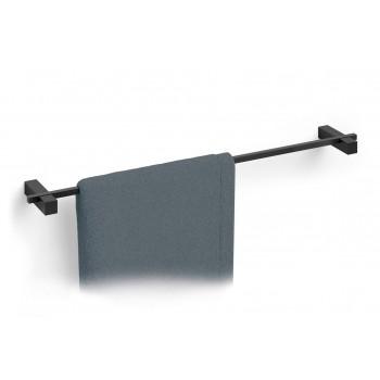 Zack Carvo Powder Coated Black Stainless Steel 65.8 cm Towel Rail 40502