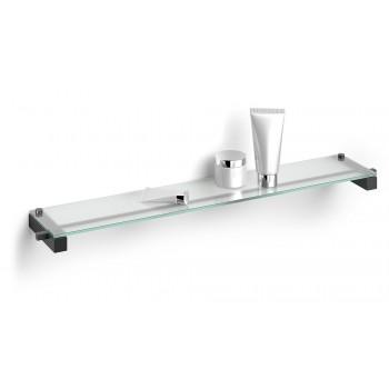 Zack Carvo Powder Coated Black Stainless Steel Bathroom Shelf 40506