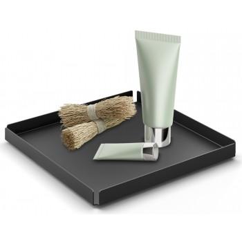 Zack Potes 20cm Black Cosmetic Tray 40538
