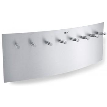 Zack Ergo Brushed Stainless Steel Key Board 50579