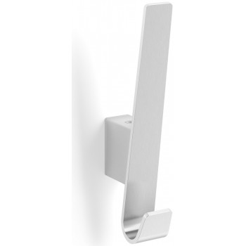 Zack Akes Brushed Stainless Steel Coat Hook 50647