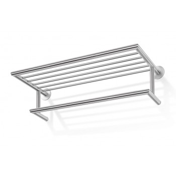 Zack Eterno Brushed Stainless Steel Wall Coat Rack 50683