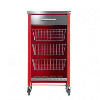 Chelsea Kitchen Trolley - Red