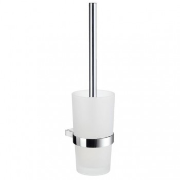 Air Wall Toilet Brush Set AK333 - Polished Chrome
