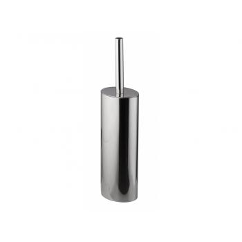Pellet Arsis Elliptical Toilet Brush & Holder - Chrome-plated Stainless Steel
