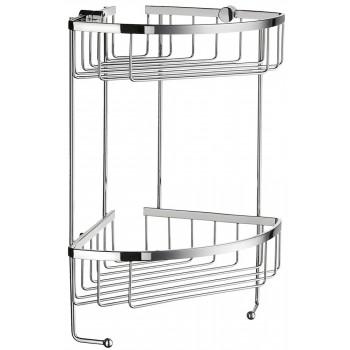 Sideline Double Corner Shower Basket DK2031