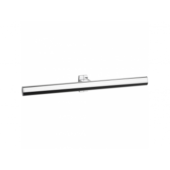 Pellet Arsis 53.5cm Elliptical Double Towel Rail - Bright Anodized Aluminium