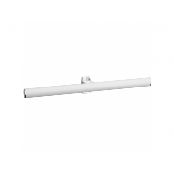 Pellet Arsis 53.5cm Elliptical Double Towel Rail - White epoxy-coated Aluminium