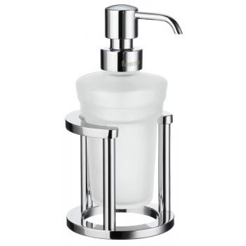 Smedbo Outline Polished Chrome Freestanding Soap Dispenser with Holder FK201