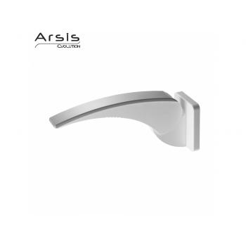 Pellet Arsis Evolution Hinged Armrest - White & Grey