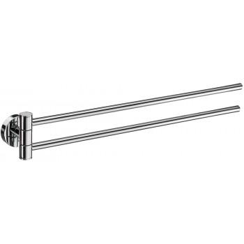 Home 44cm Swing Arm Towel Rail HK326 - Polished Chrome
