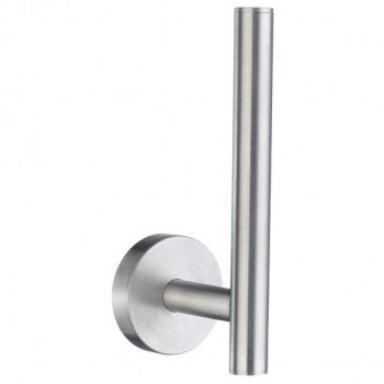 Home Spare Toilet Roll Holder HS320 - Brushed Chrome