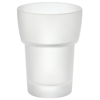 Frosted Glass Tumbler- White (Fits AK343) L349