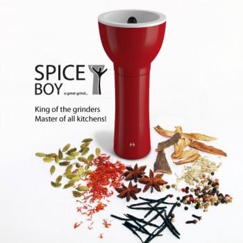 Spiceboy Spice Grinder RED