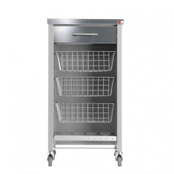 Chelsea Kitchen Trolley - Silver Grey