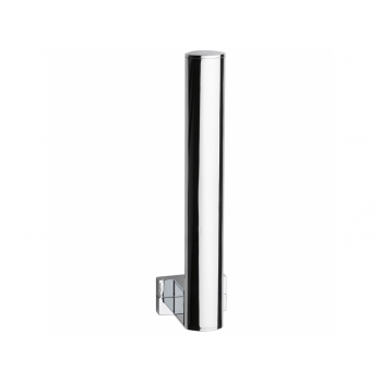 Pellet Arsis Elliptical Spare Toilet Roll Holder - Bright Anodized Aluminium