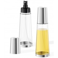 Zack Aceo Brushed Stainless Steel Oil or Vinegar Dispenser 20224