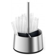 Zack Toco Brushed Stainless Steel Table Stand 20631