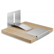 Zack Ango Brushed Stainless Steel Napkin Holder 22446