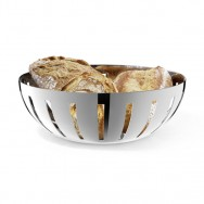Zack Vitor Polished Stainless Steel Bread Basket 30714