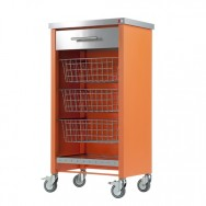 Chelsea Kitchen Trolley - Orange