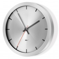 Apollo 30cm Wall Clock 60031 - Brushed Finish