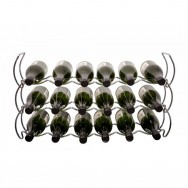 StackRack 18 Bottle Wine Rack - Chrome