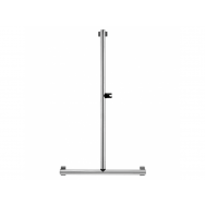 Pellet Arsis L or T-Shaped Elliptical Shower Bar - Bright Anodized Aluminium
