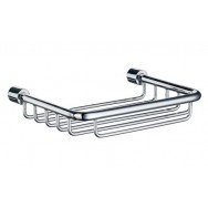 Sideline Wall Soap Basket DK1005 - Polished Chrome