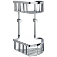 Loft Double Corner Shower Basket LK377