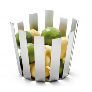 Zack Tosto Brushed Stainless Steel Fruit Basket 30673