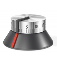 Zack Conte Brushed Stainless Steel Kitchen Timer 20577