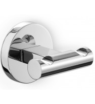 Zack Scala Polished Stainless Steel Double Towel Hook 40063